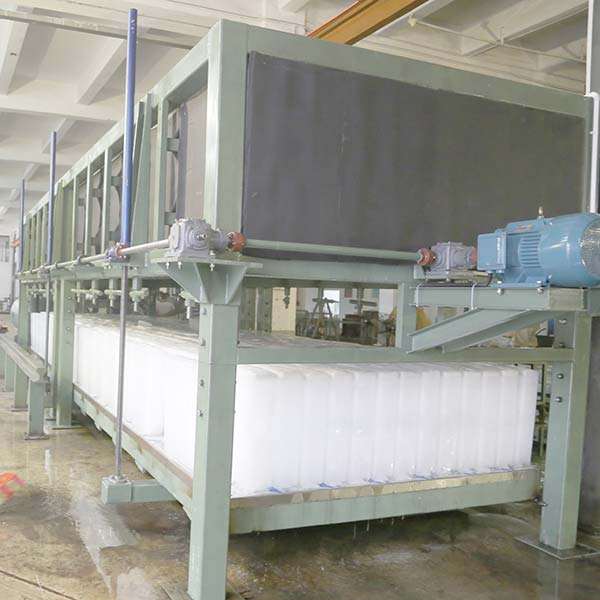 Direct Cooling Block Ice Machine Is Testing
