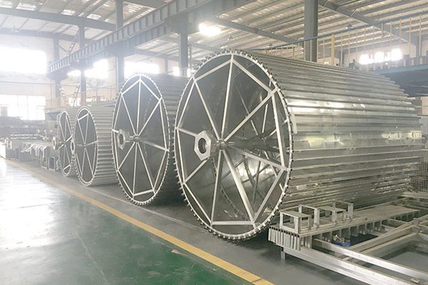 Spiral Freezer In Production Line