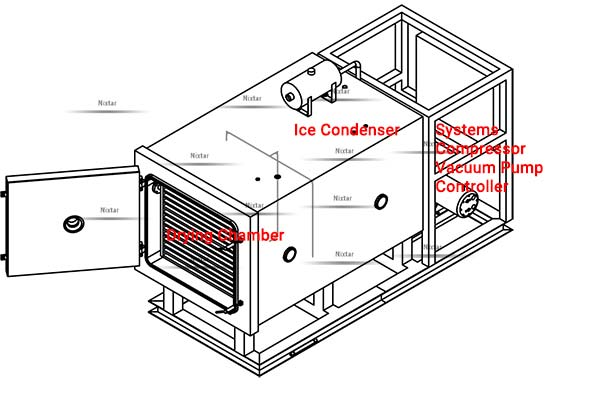 Freeze Dryer Structure