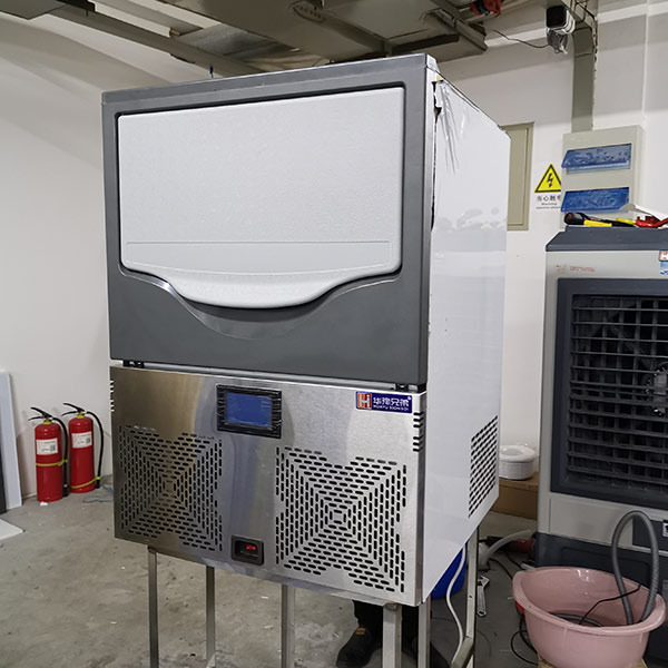 XD-100 Flake Ice Maker In Production Line