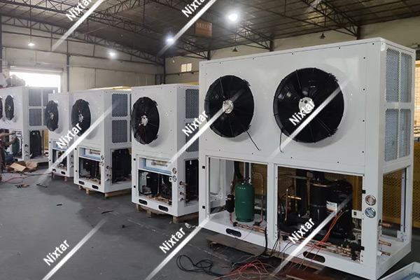 Box Type Condensing Units Production