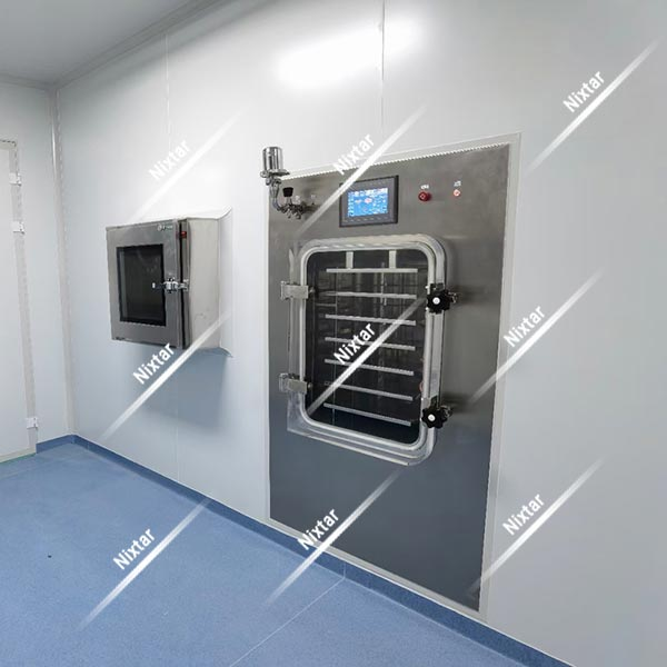 RD10 Freeze Dryer With Clean Room Config
